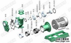 自吸磁力泵,原理结构图,型号大全!