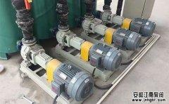 氟塑料离心泵抽空的原因及处理