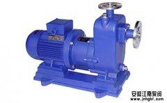 简述CQZ自吸式排污泵特征与处理障碍办法