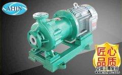 IMD型氟塑料磁力泵产品性能及优点概括!