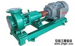 化工水泵的进出口管路设计要求及配置