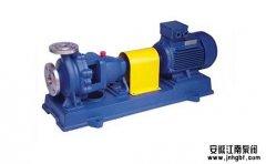 三种不锈钢离心泵工作点的调节方式