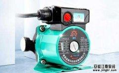 家用地暖循环泵优势及常见故障分析