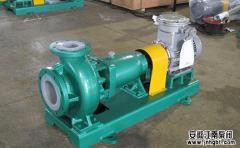 氟塑料合金工业泵八个安装方法