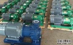 化工生产对工业泵的特殊要求