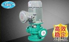 典型氟合金管道泵的特征和作用