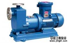 分析自吸水泵达到自吸性能的关键因素