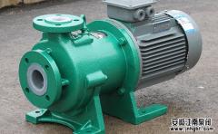 化工磁力驱动泵可以输送含杂质颗粒性物料吗?