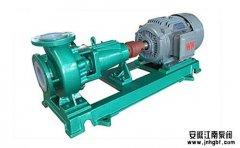 化工耐腐泵和普通水泵到底有啥区别?