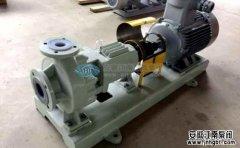 化工泵厂家教你如何选用耐腐蚀化工泵?