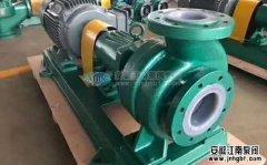 脱硫化工泵的选型关键在于什么地方?