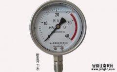 为啥水泵出口要装压力表?压力表安装有什么条件