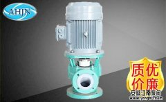 衬氟管道泵泵腔内空气排不尽的原因
