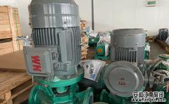 立式管道泵结构特点及作用常识