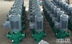 立式管道离心泵的噪音产生原因和解决方法