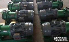 十类特殊情况下选用的化工泵