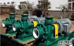 脱硫塔用泵之防腐循环泵必备性能