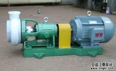 四氟化工泵的正确操作规范