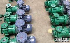 耐腐蚀水泵安装与试车