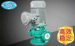 氟塑料管道泵压力或扬程减低的原因