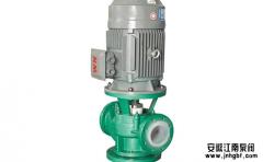 立式强酸碱离心泵抽不上水的原因及安装事项