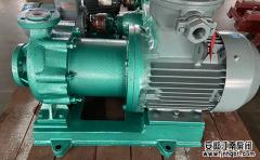 问;无泄漏化工磁力泵叶轮转速降低的原因是什么?