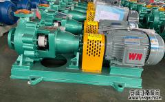 五个方面细说化工水泵选型