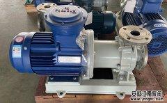 不锈钢磁力泵的安装组成及应用方法