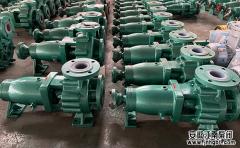 化工衬氟泵各种材质耐高温程度性能解析