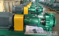 化工用泵加冷却水的作用及设计要求